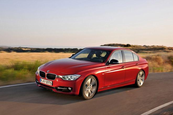 BMW 3 series 2012 фото
