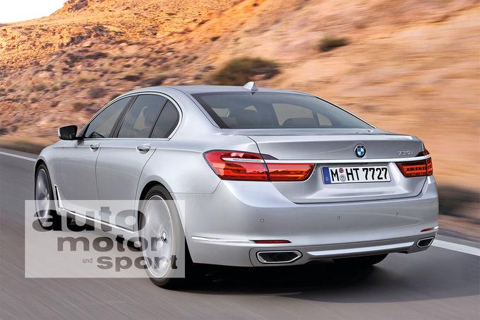 BMW 7 Series 2016 render
