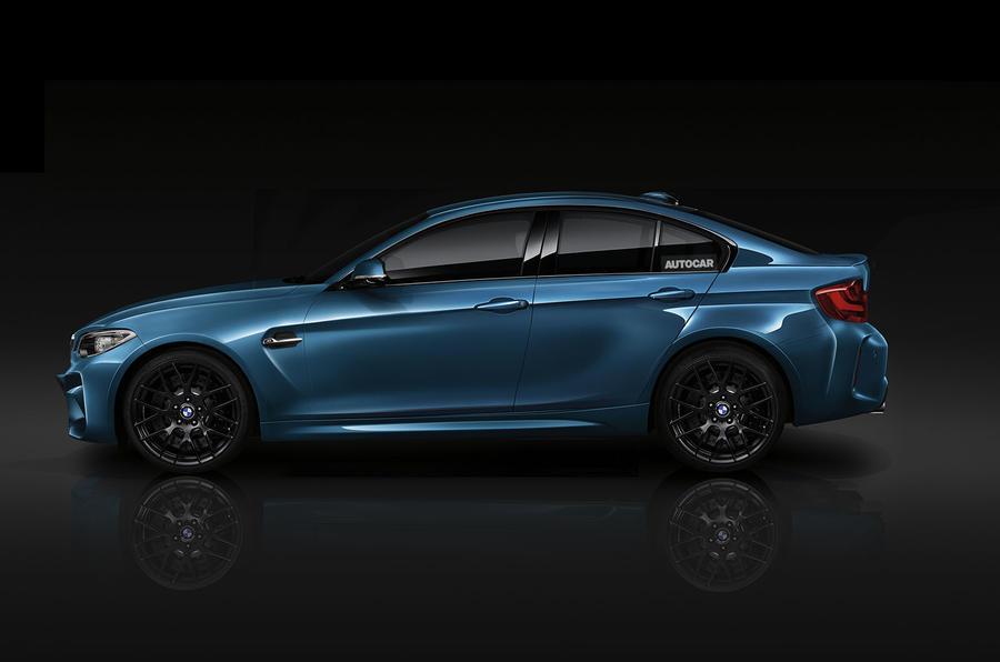 У BMW 2-Series будет четырёхдверная версия