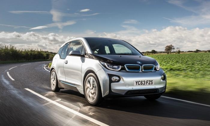 BMW i3 проедет дальше от одной зарядки