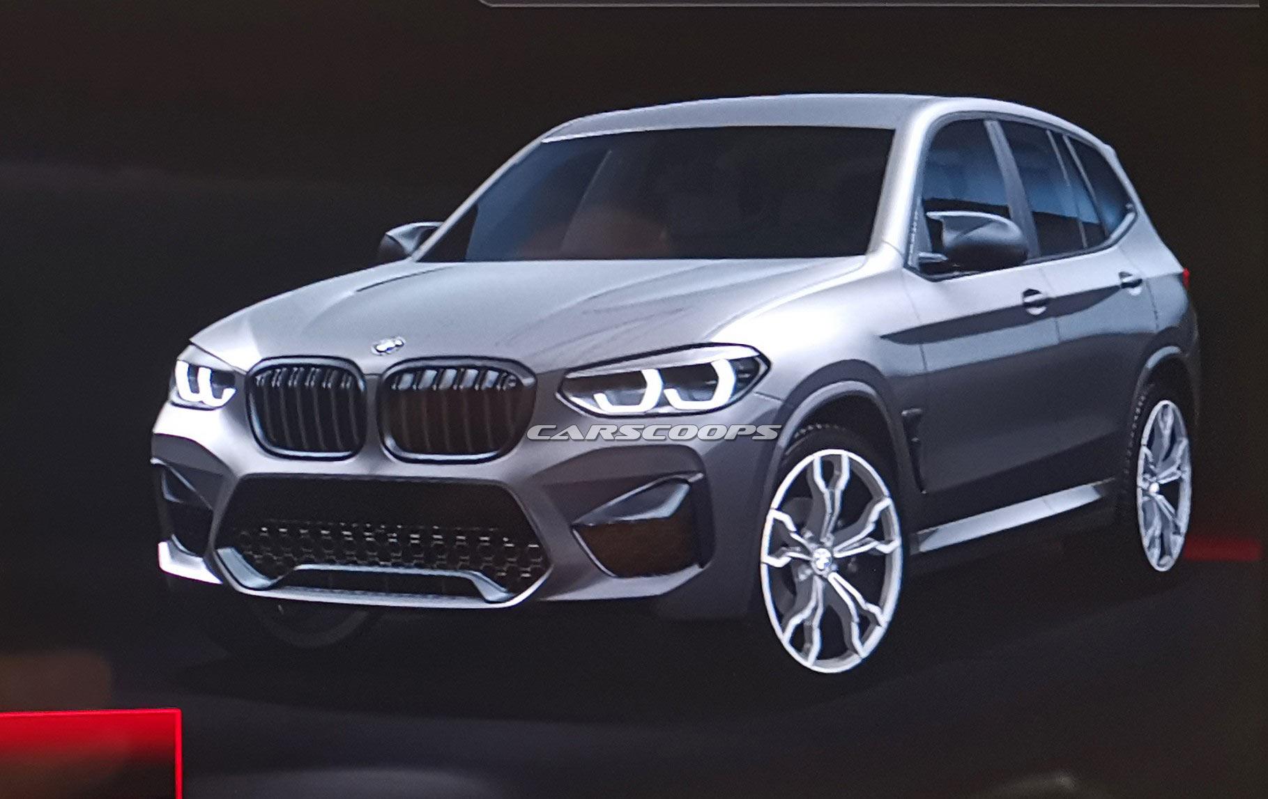 Раскрыта внешность кроссовера BMW X3 M