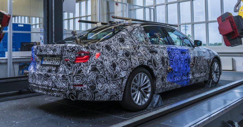 Владельцы BMW 5-Series смогут удалённо наблюдать за автомобилем