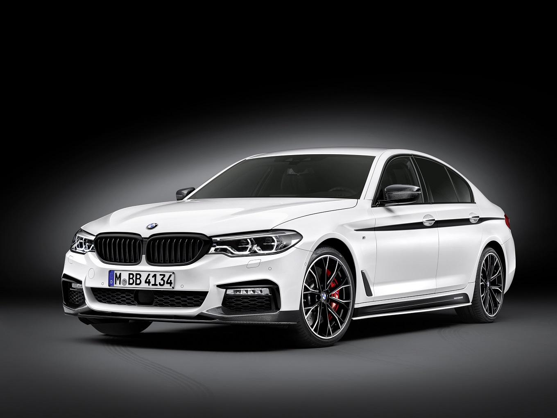 Для новой «пятерки» BMW разработали аксессуары M Performance