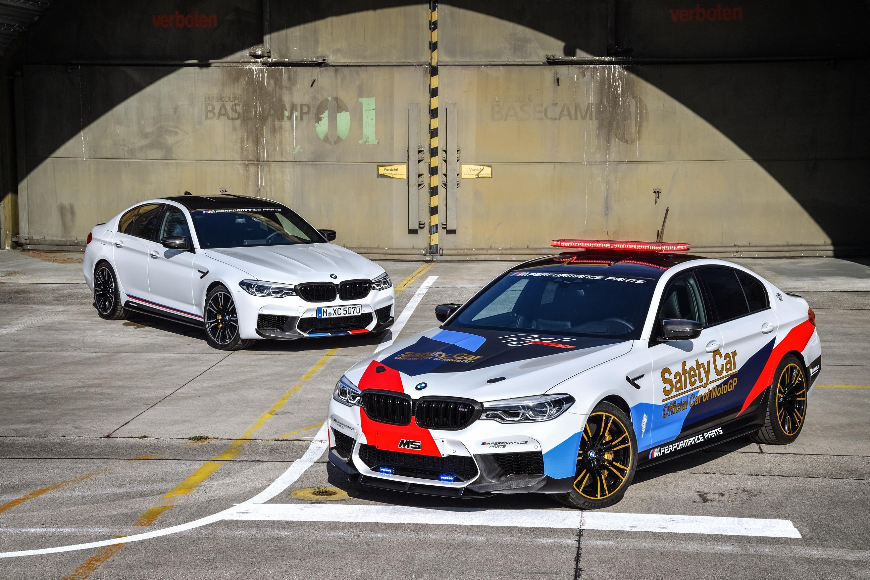 Седан BMW M5 стал автомобилем безопасности для MotoGP