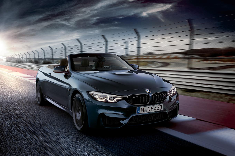 BMW выпустила «юбилейный» кабриолет M4