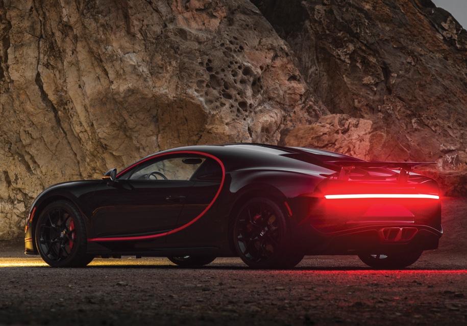 «Заряженный» Bugatti Chiron представят в Женеве