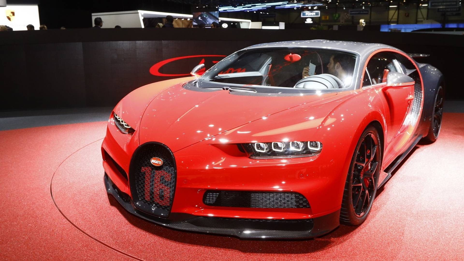 Bugatti представила самый быстрый Chiron Sport