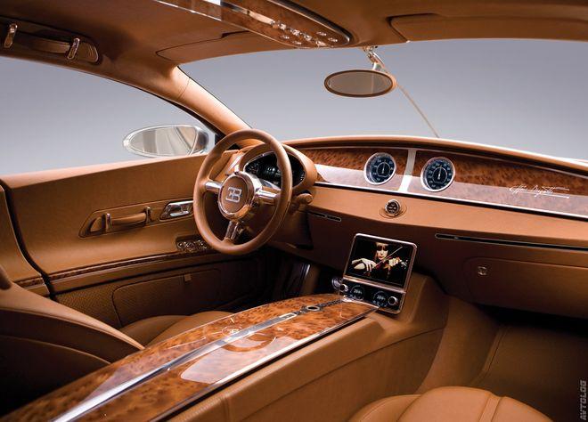 Bugatti Galibier — интерьер