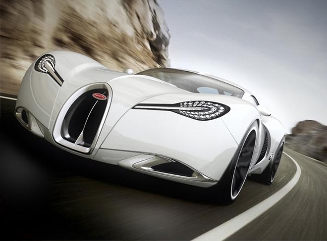 Дизайнерский Bugatti Gangloff