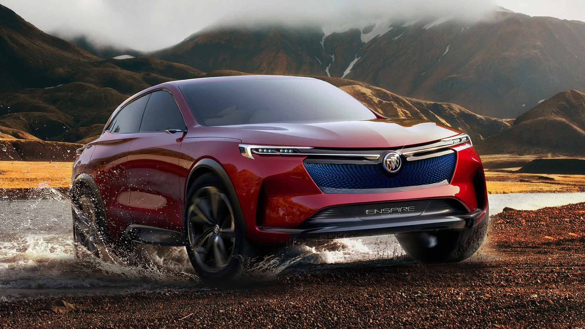 Buick презентовал электрический кроссовер Enspire
