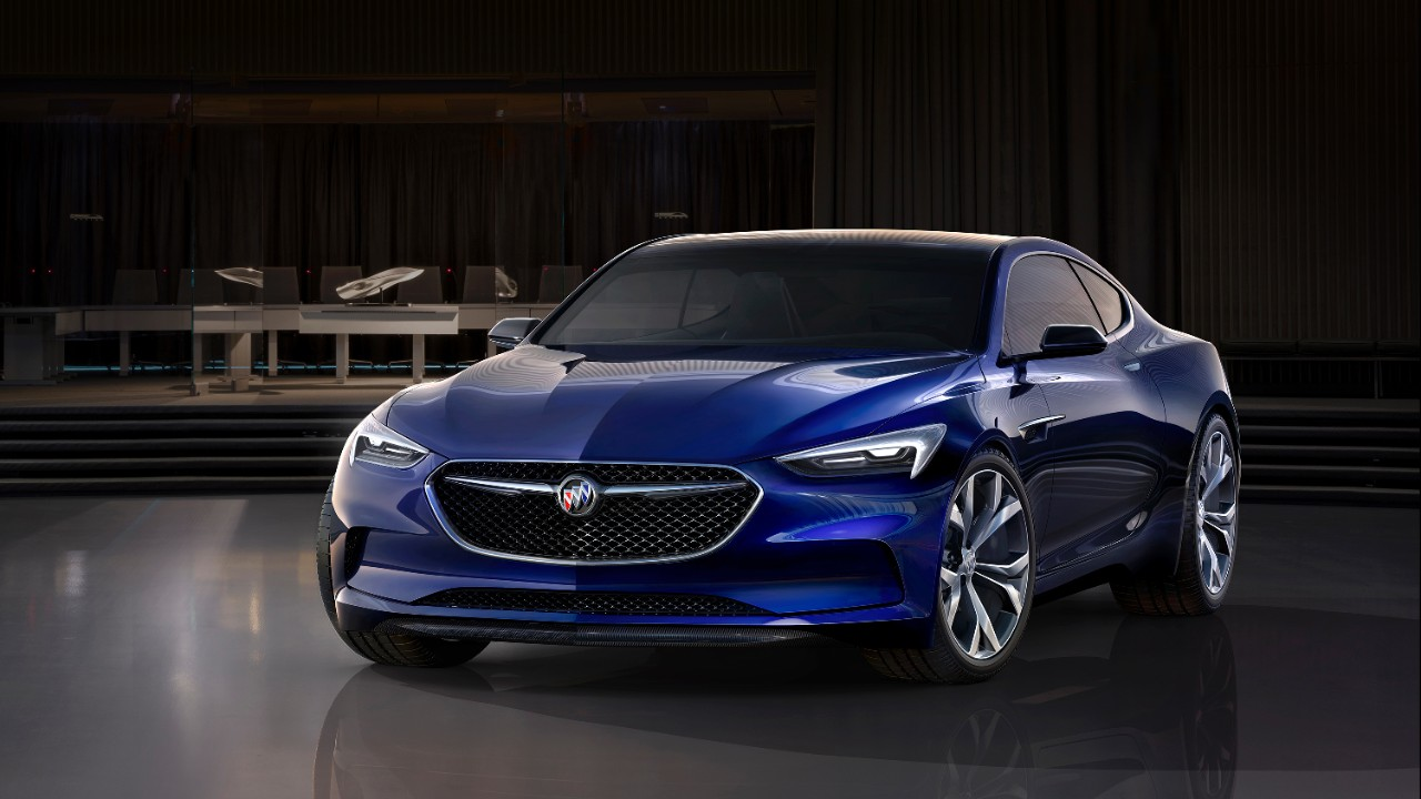 Купе Buick Avista задало новый тон развития дизайна бренда