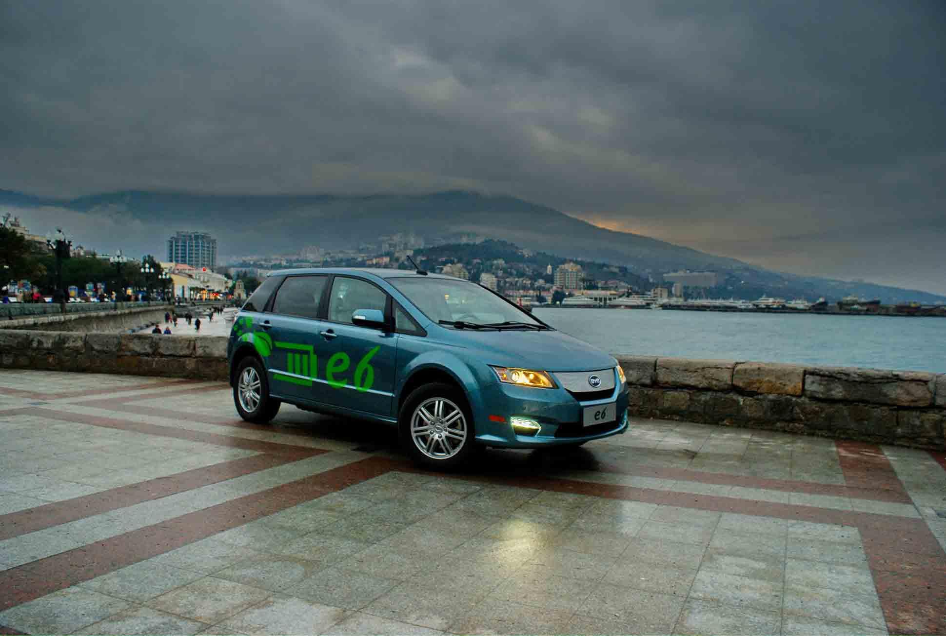 В Крыму будут лишь электро-такси