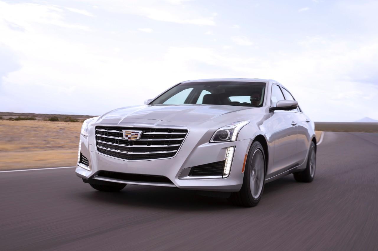 Седаны Cadillac CTS научились сообщать друг другу об опасностях