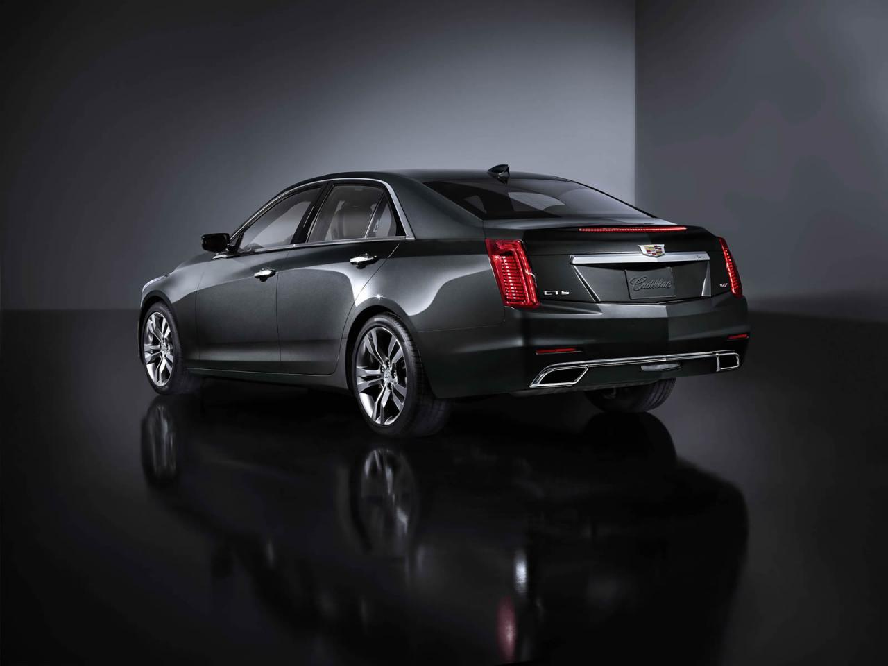 Cadillac CTS rear