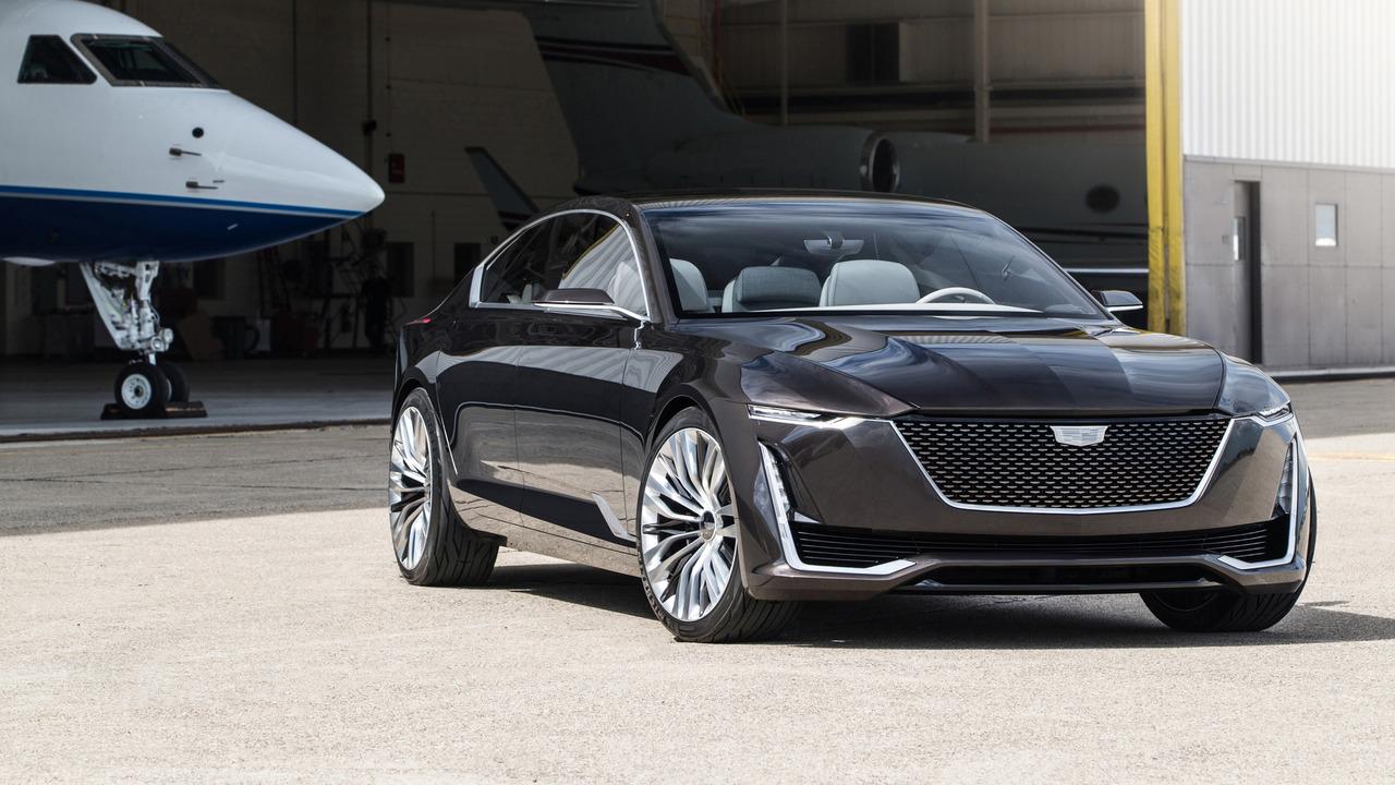 Компания Cadillac показала дизайн будущего флагмана