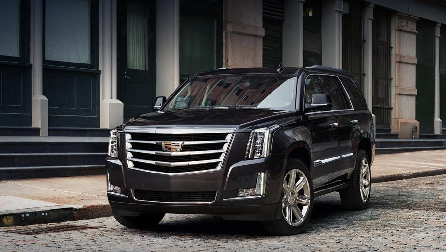Новый Cadillac Escalade будет предлагаться с тремя вариантами двигателя