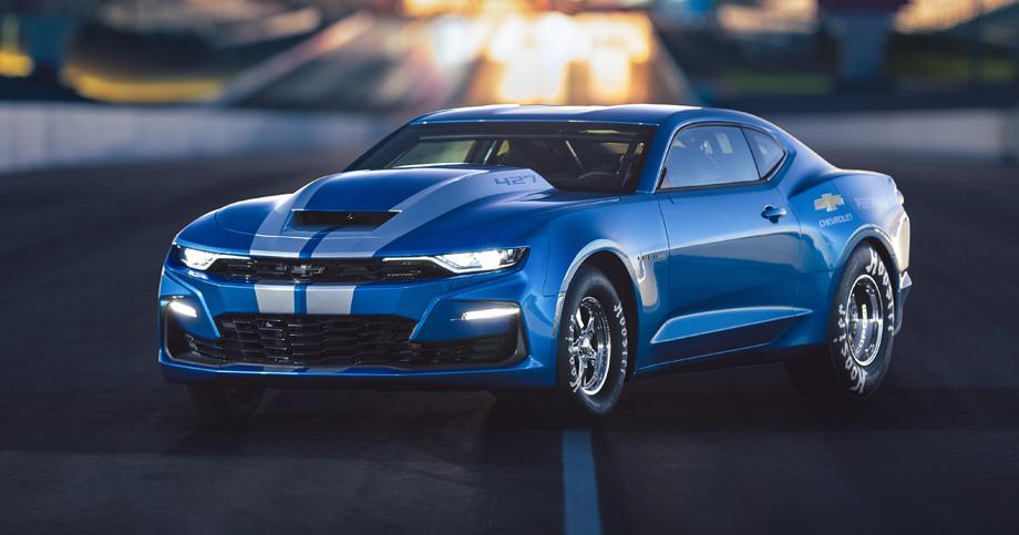 Chevrolet показал электрическое купе eCOPO Camaro