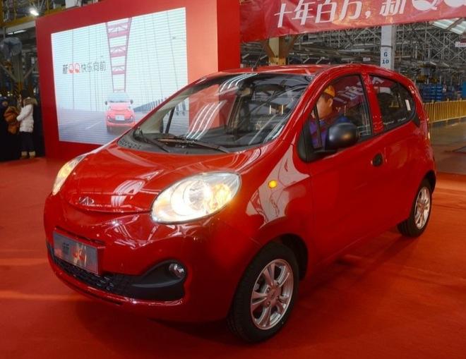 Производство нового Chery QQ стартовало в Китае