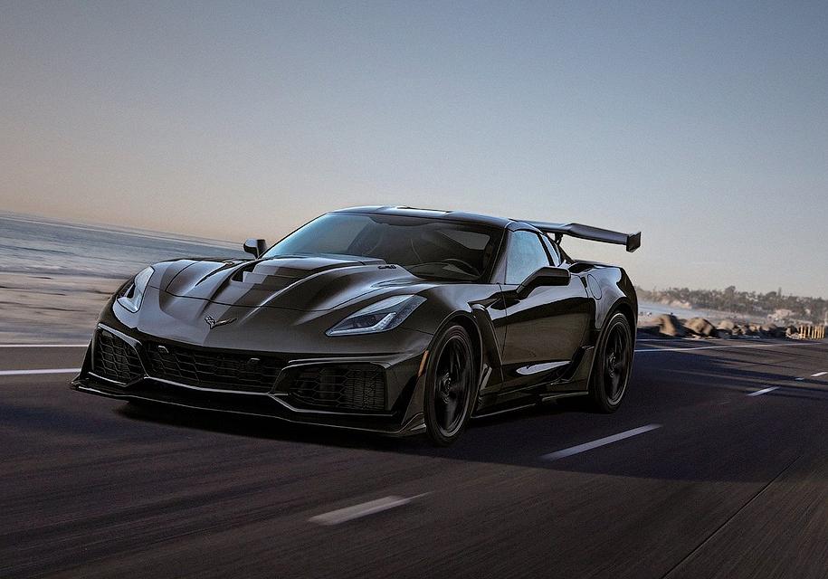 Раскрыты динамические характеристики Chevrolet Corvette ZR1