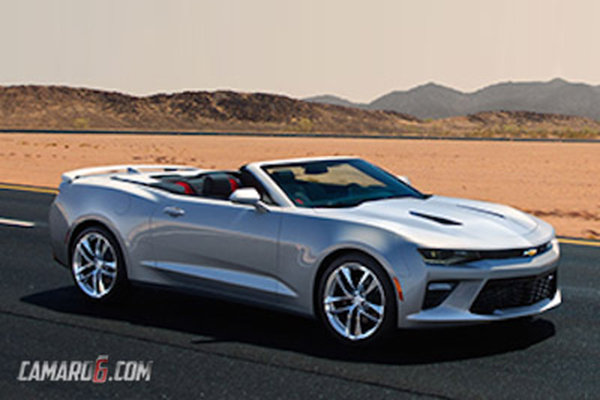 Chevrolet Camaro Six Convertible