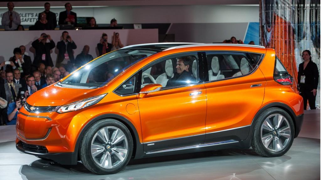 Электрокар Chevrolet Bolt «нафаршируют» электроникой LG