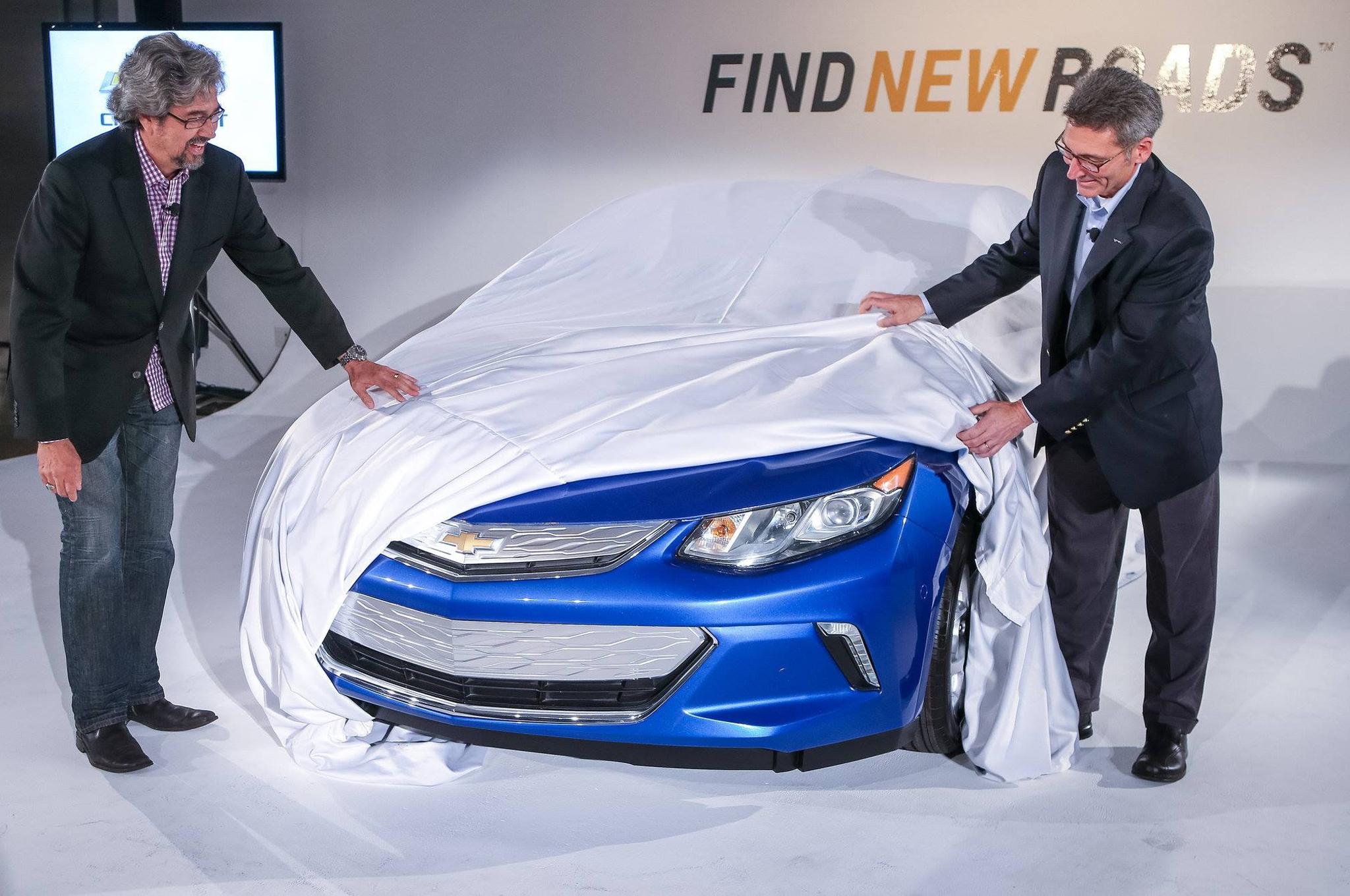 Chevrolet Volt 2016 Teaser