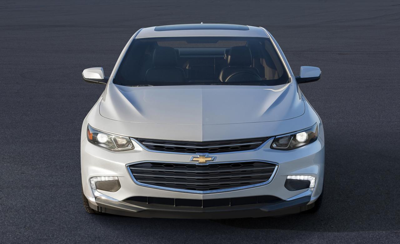 Похудевший Chevrolet Malibu потерял «аппетит» (официальные фото и видео новинки)