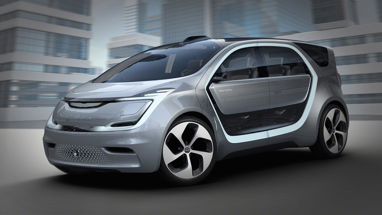 CES 2017: Chrysler представила концепт-кар автомобиля будущего