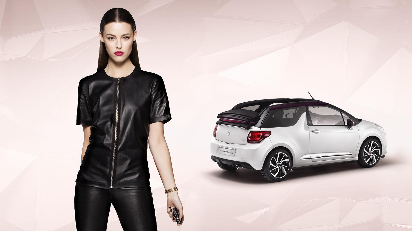 Хэтчбек и кабриолет DS3 получили встроенные косметички от Givenchy