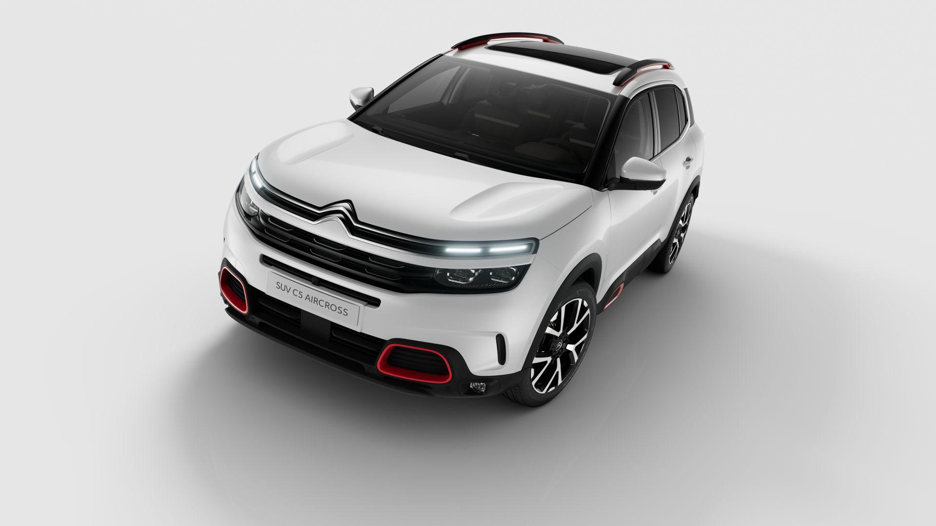 Citroën представил европейский C5 Aircross