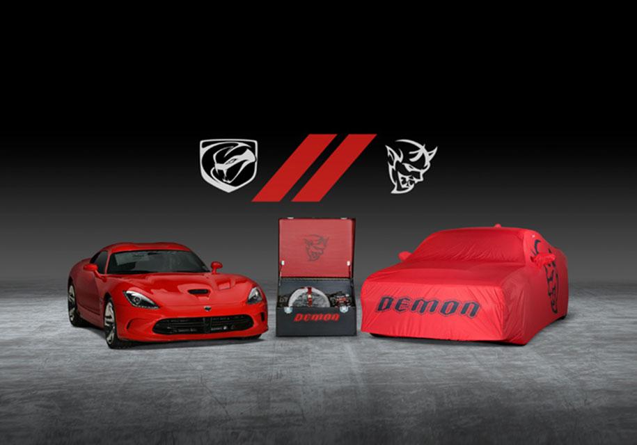 Последние Dodge Challenger SRT Demon и Viper продадут с молотка