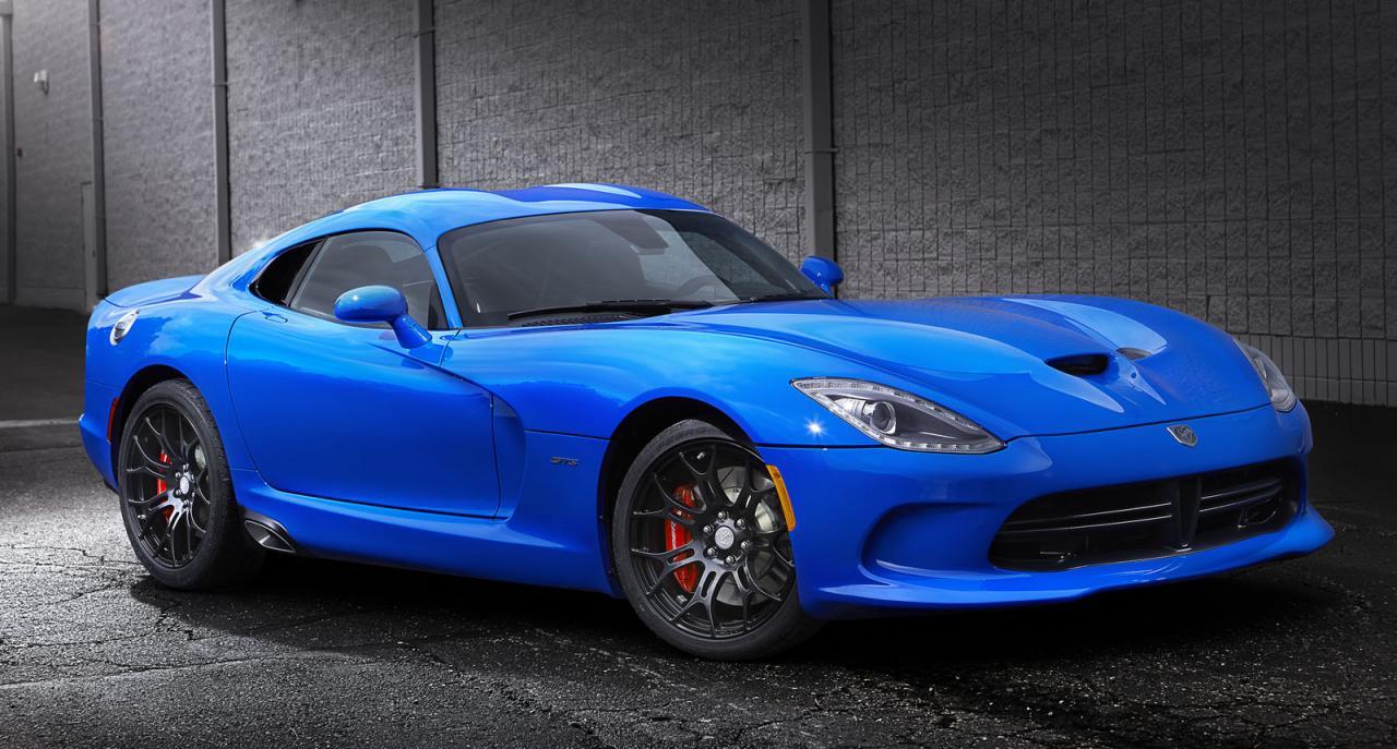 Dodge Viper GTS Ceramic Blue