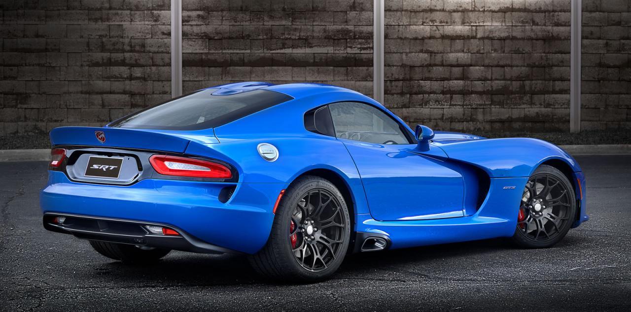 Dodge Viper GTS Ceramic Blue rear