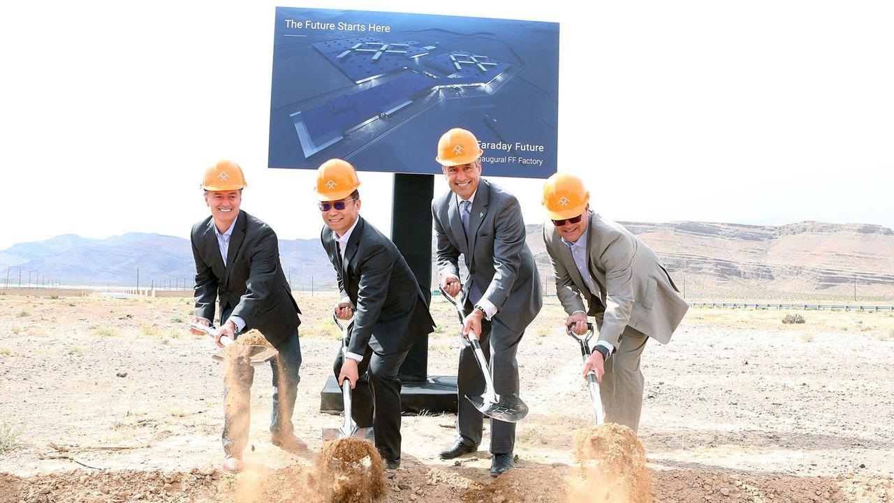 Компания Faraday Future ограничится мини-заводом в Неваде