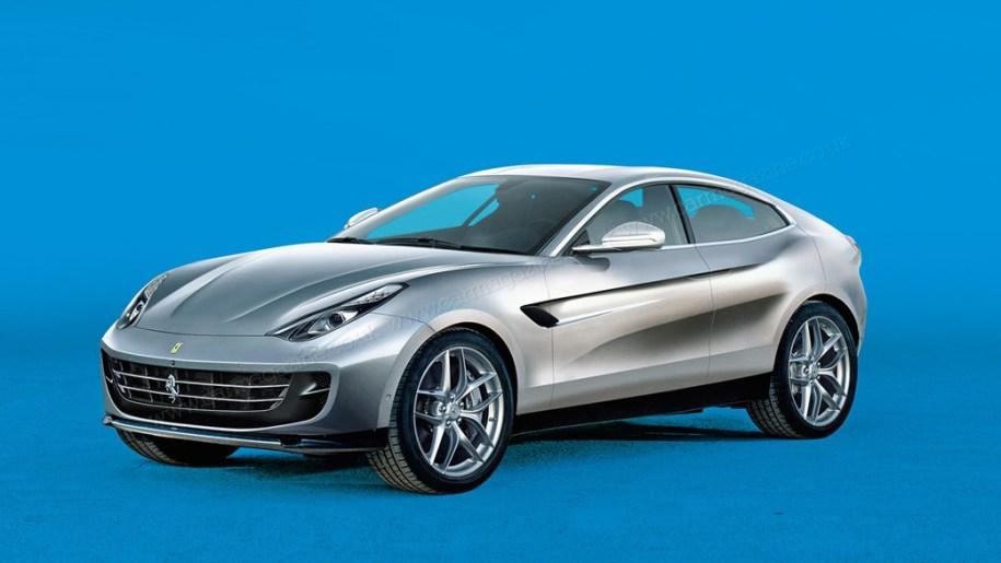 Ferrari планирует выпустить гибридный кроссовер