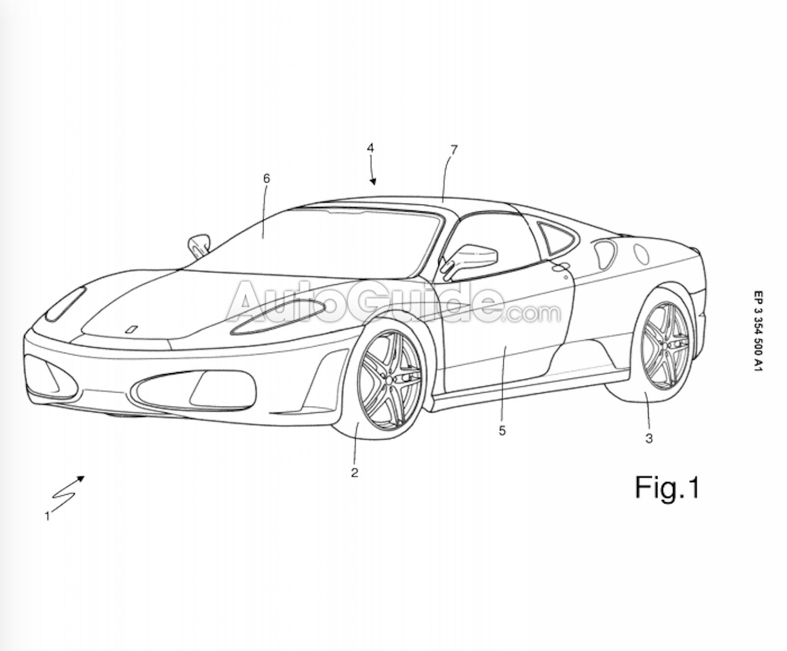 В модельной линейке Ferrari может появится серийная тарга