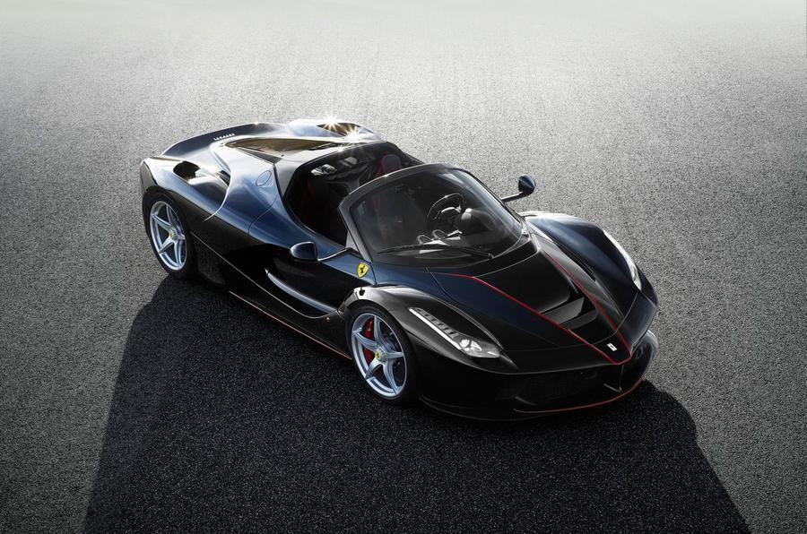 Суперкар Ferrari LaFerrari получил открытую версию