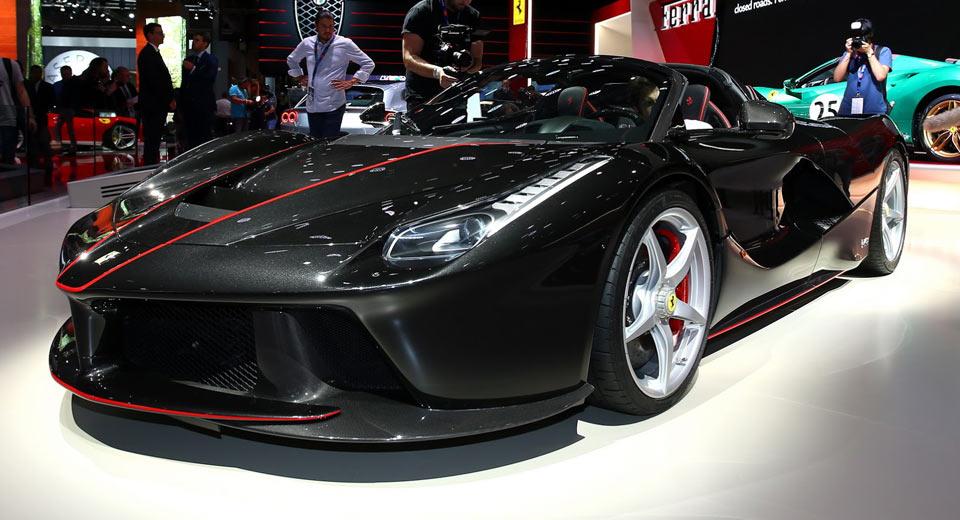 Новый суперкар Феррари выйдет напротяжении трёх-пяти лет