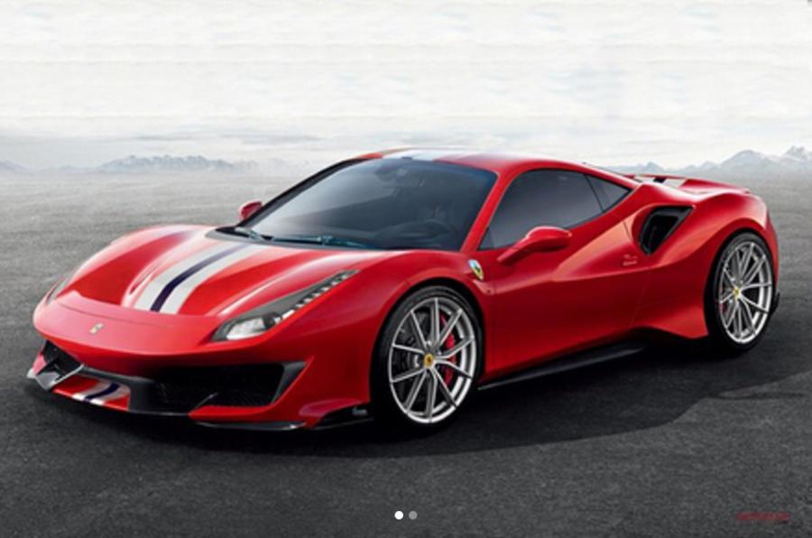 «Заряженная» версия суперкара Ferrari 488 GTB получит имя Pista