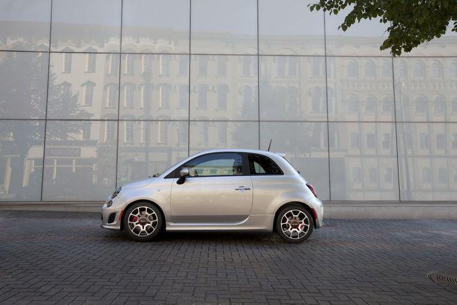 Fiat 500 Turbo —экстерьер