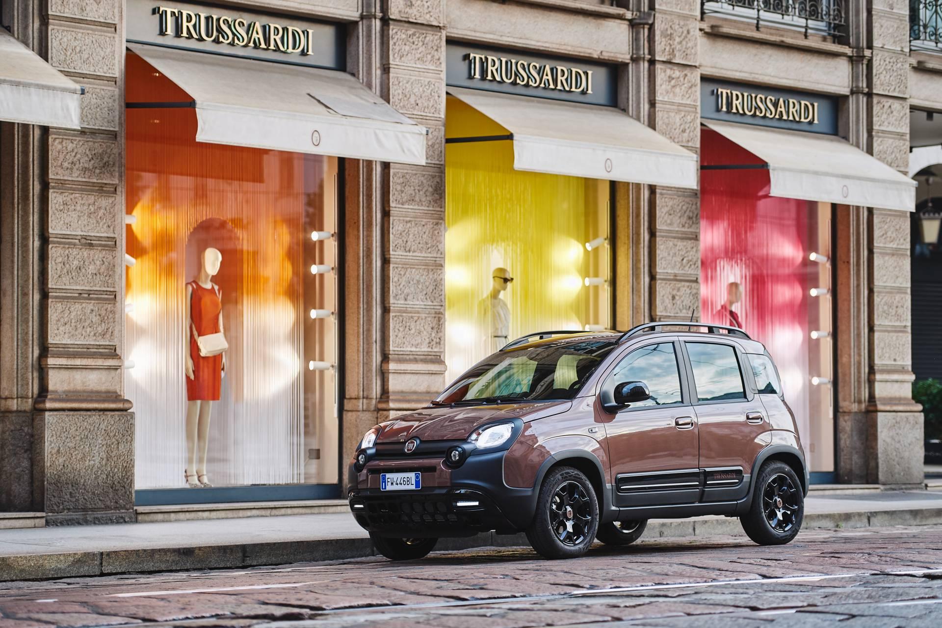 У Fiat Panda появилась «роскошная» версия