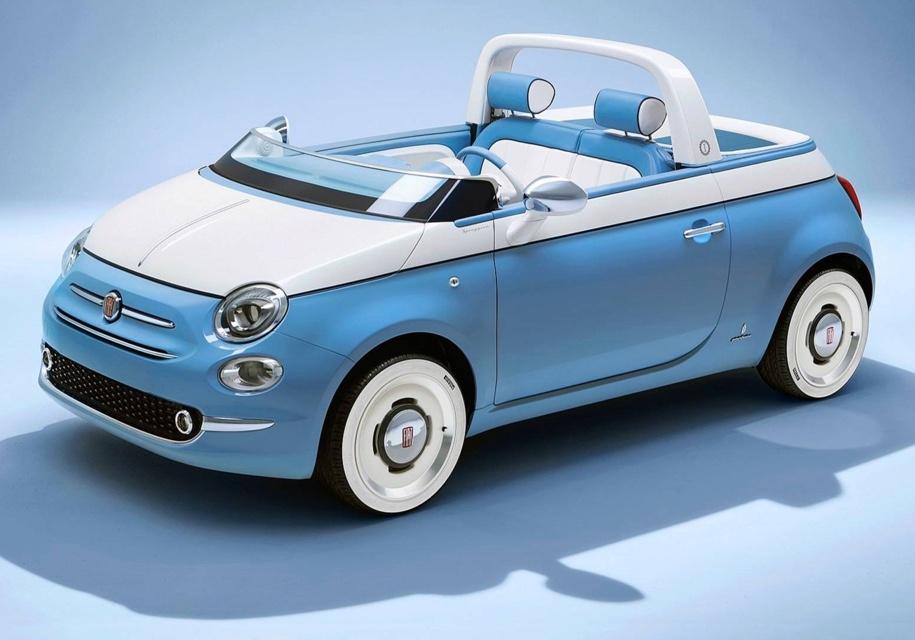 Fiat построил «пляжный» пикап и кабриолет
