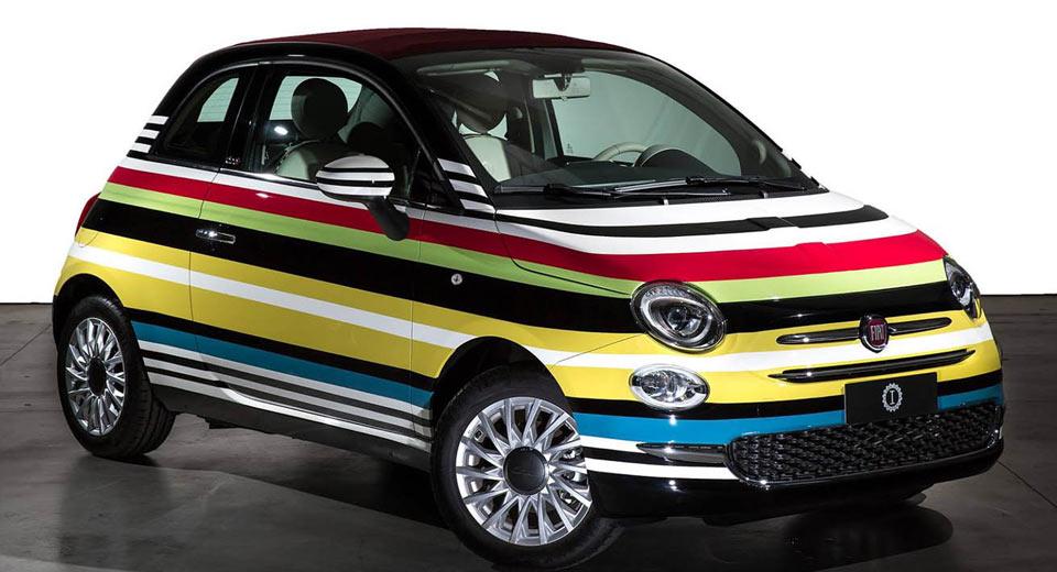 Единственный кабриолет Fiat 500C Missoni Edition продали на благотворительном аукционе