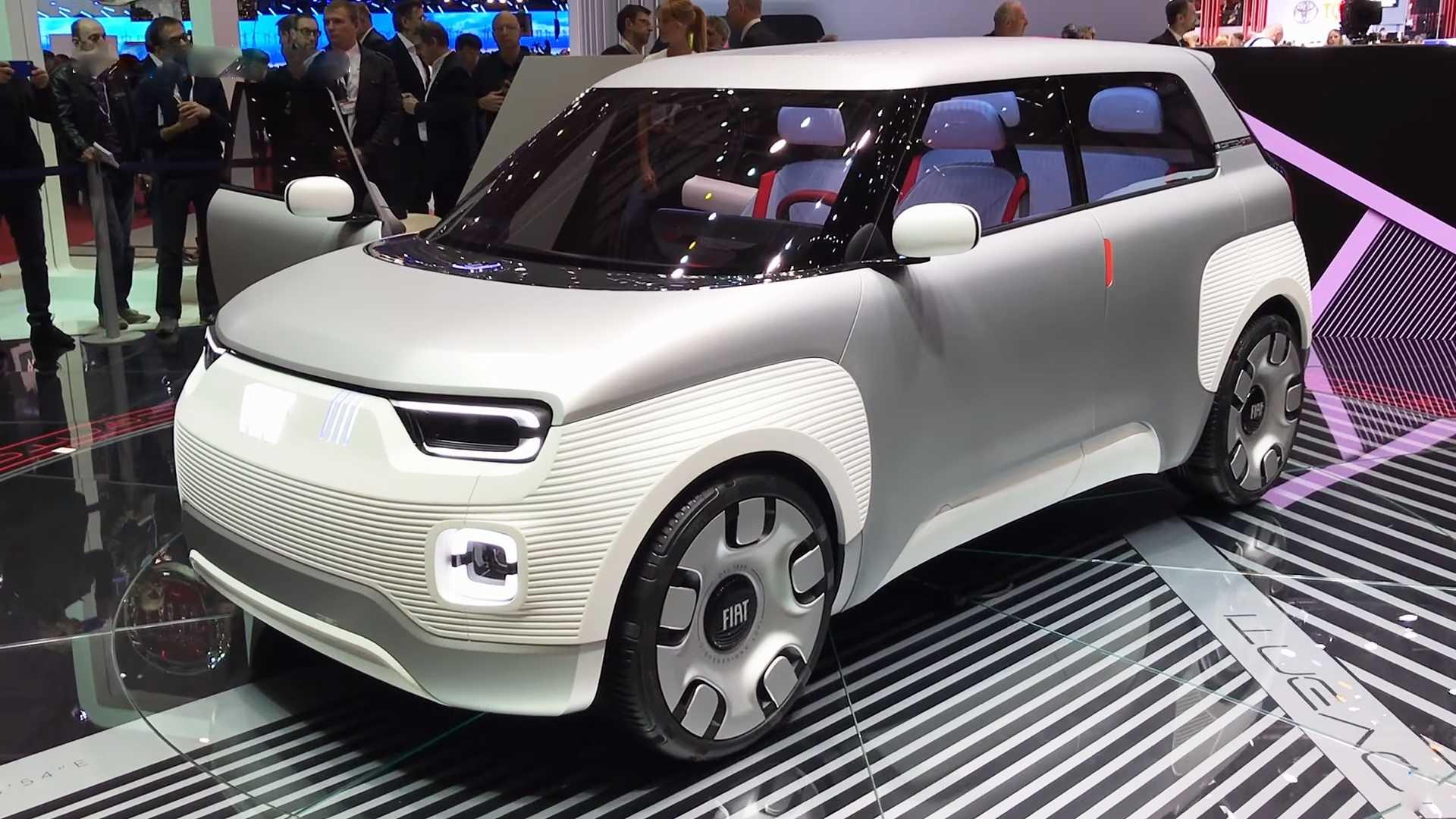 Марка Fiat представила электрический концепт-конструктор — Centoventi