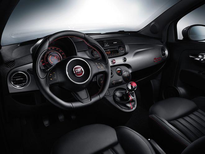 Fiat 500S — интерьер, фото 1