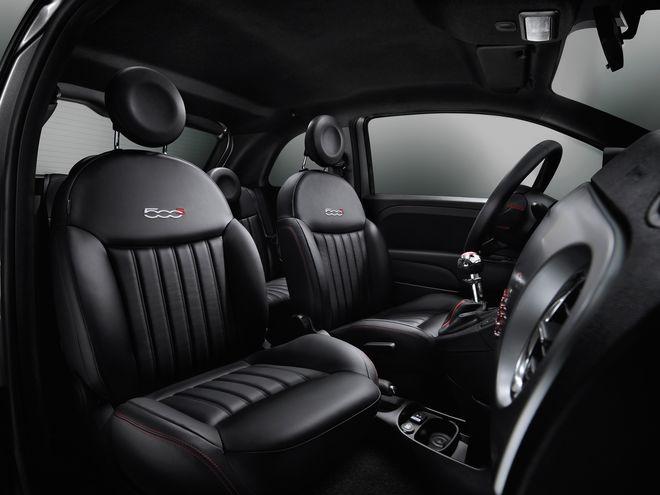 Fiat 500S — интерьер, фото 2