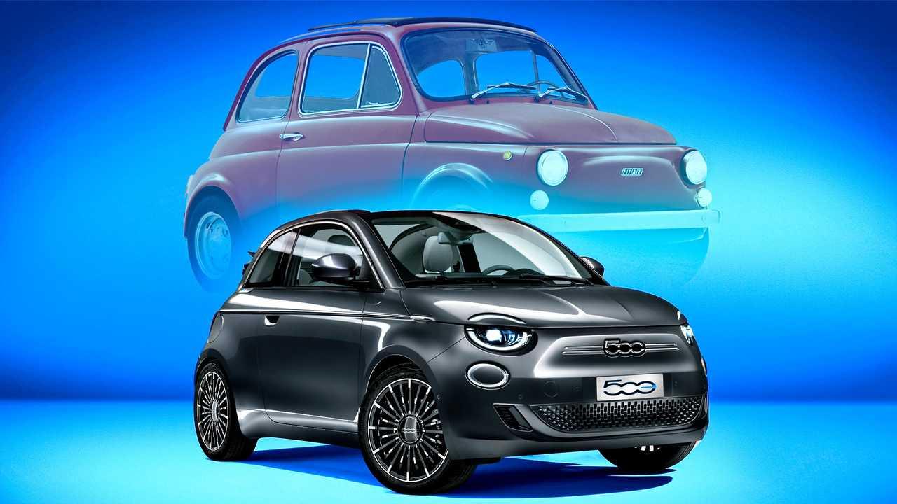 Новый Fiat 500e полностью рассекречен