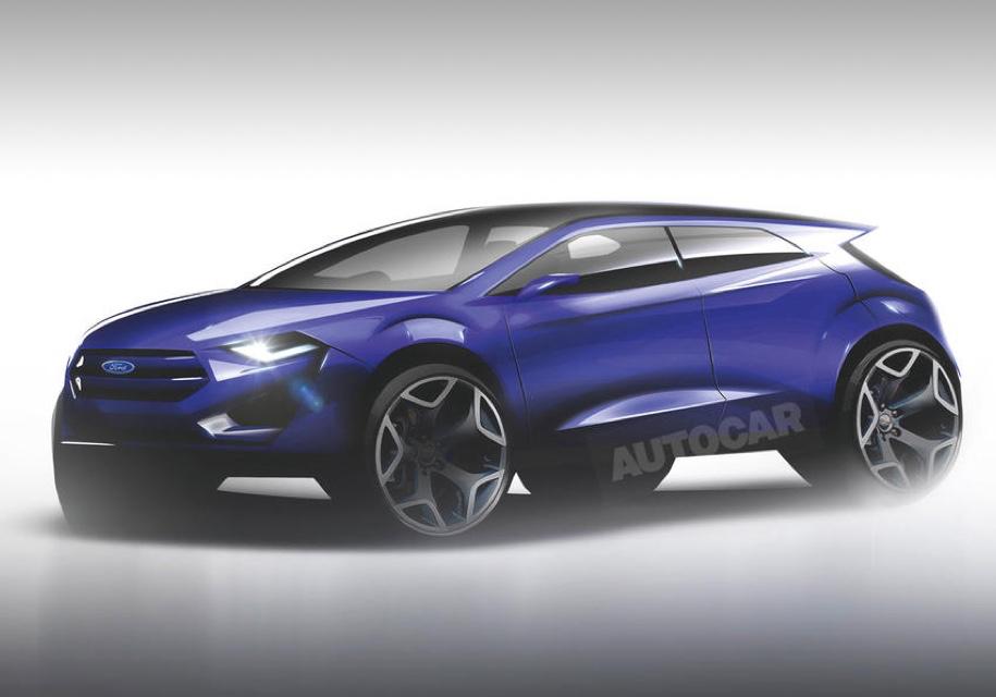 Электрокроссовер Ford получит платформу Focus