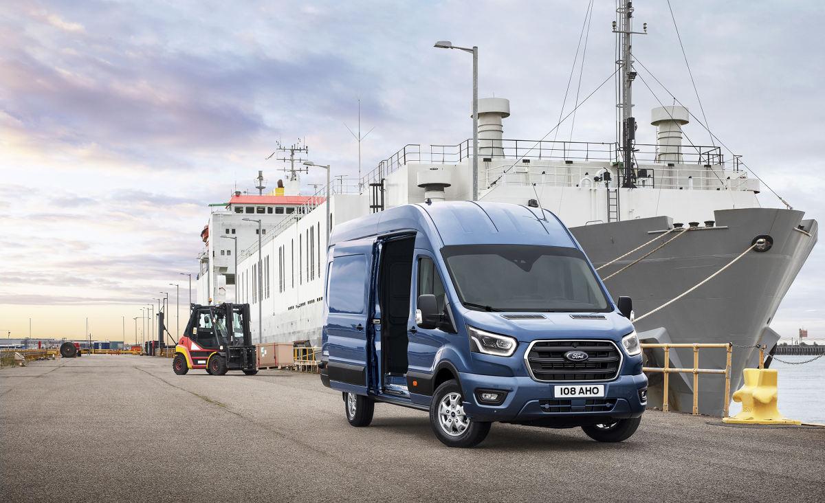 Ford представил новую модификацию фургона Transit