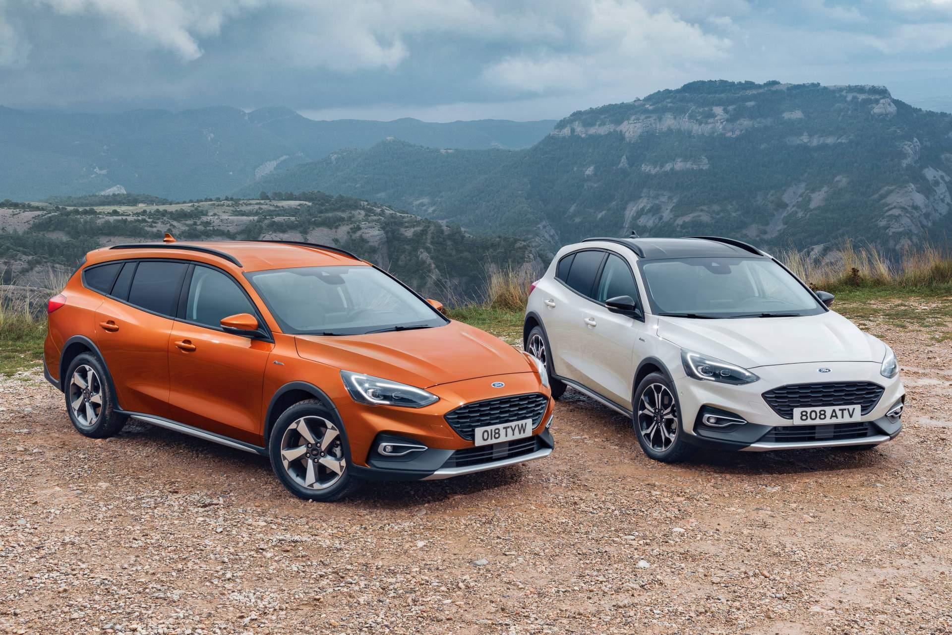 Ford представил вседорожные версии хэтчбека и универсала Focus